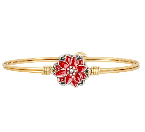 Luca+Danni Poinsettia Bangle Bracelet