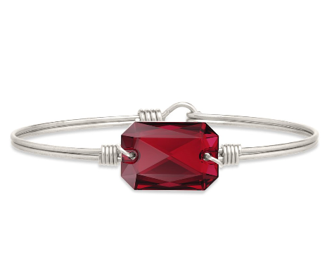 Luca+Danni Dylan Bangle Bracelet in Scarlet