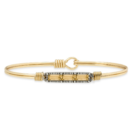 Luca+Danni Mini Hudson Bangle Bracelet in Autumn