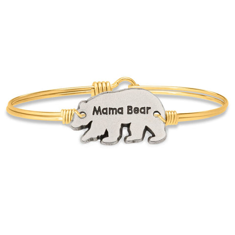 Luca+Danni Mama Bear Bangle Bracelet