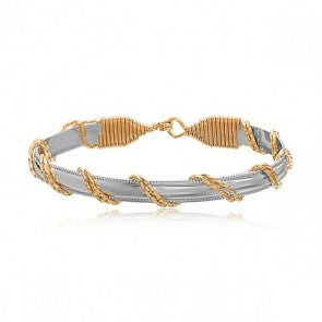 Ronaldo - Dome bar candy stripe bracelet