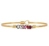 Luca+Danni Mini Hudson Bangle in Love Ombre