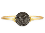 Luca+Danni Hummingbird Bangle Bracelet