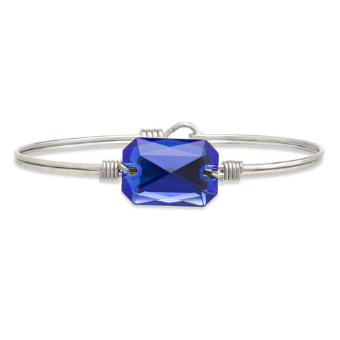 Luca+Danni Dylan Bangle Bracelet in Majestic Blue