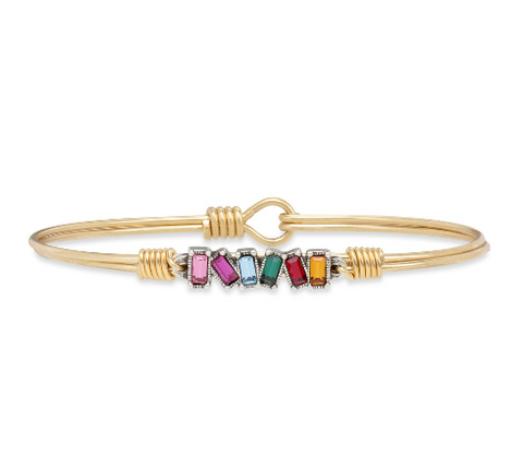 Luca+Danni Mini Hudson Bangle in Ombre