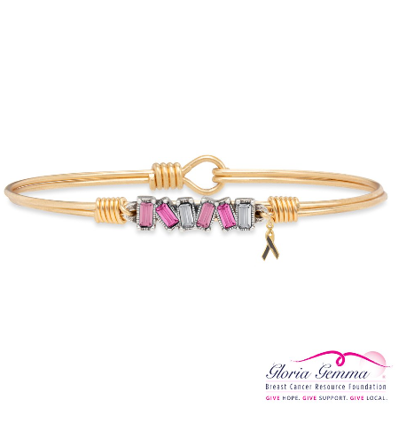 Luca+Danni Mini Hudson Bangle in Pink Ombre