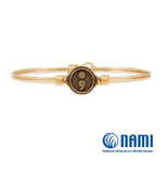 Luca+Danni Semicolon Bangle Bracelet