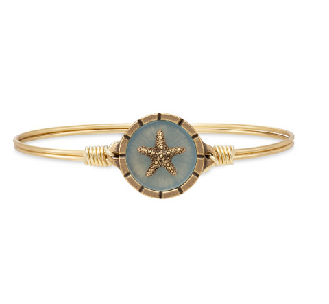 Luca+Danni Starfish Isla Bangle Bracelet