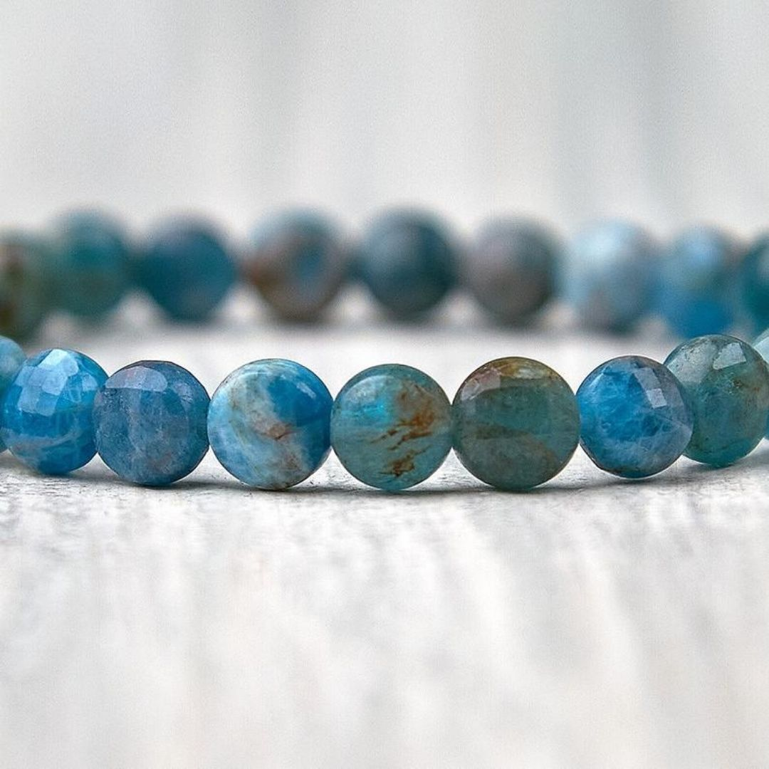 Blue Apatite Bracelet - Blissbury.co