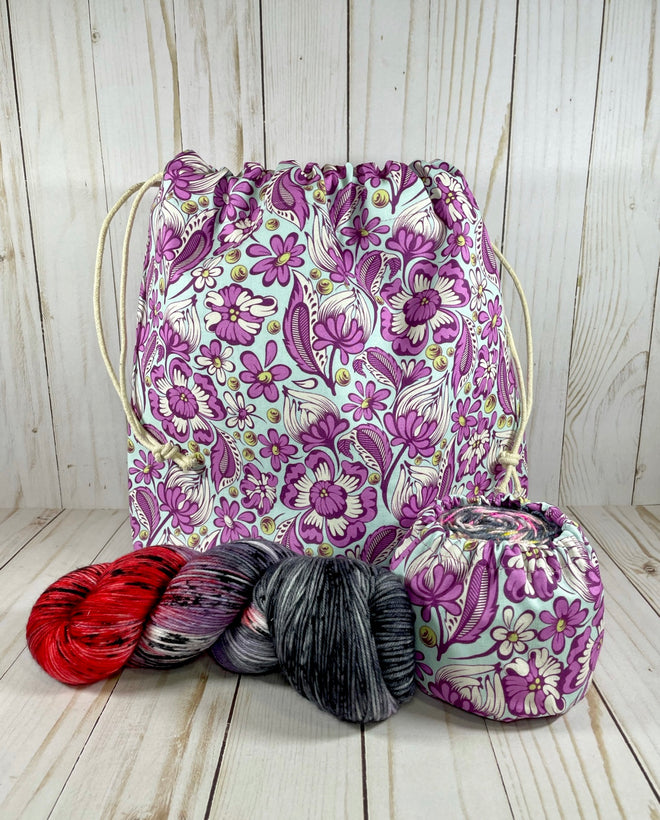 Yarn Project Bags | Cookie and Bees