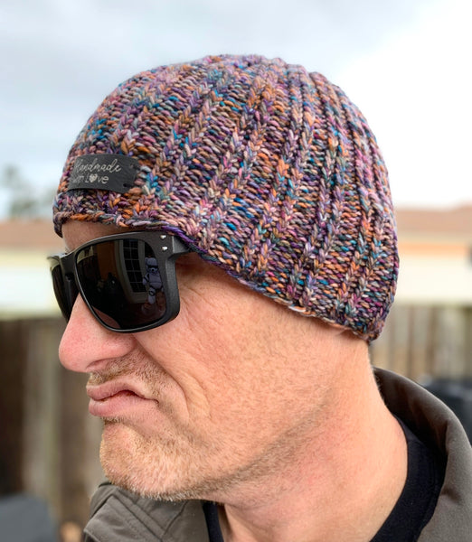 Twisted Knitted Hat-Digital Download | Cookie and Bees