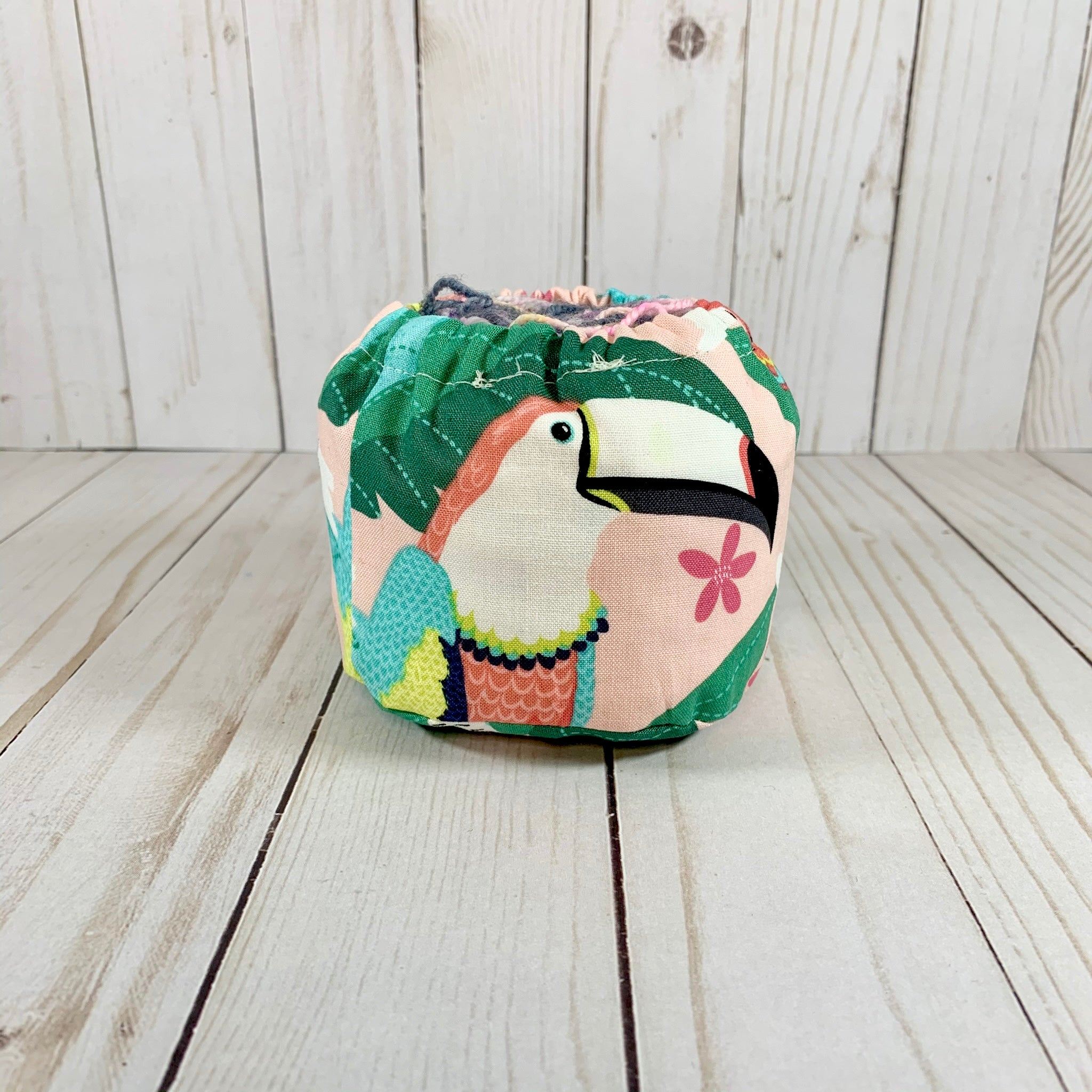 Macaw Cake Coozie™ | Cookie and Bees