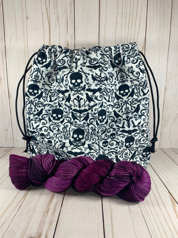 Poe Large Drawstring Bag | Cookie and Bees