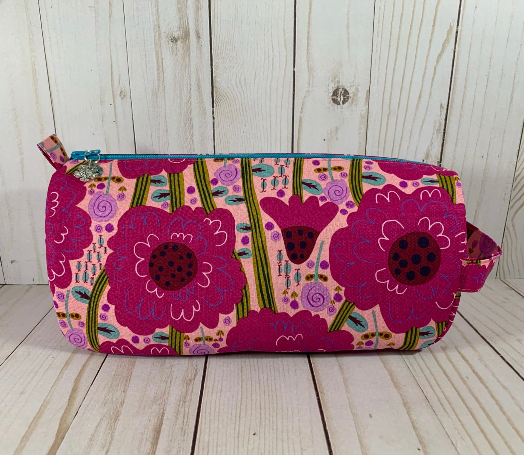 Dahlia Small Project Bag | Cookie and Bees