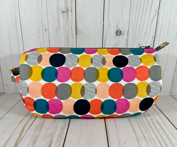 Bubble Dot Small Project Bag | Cookie and Bees