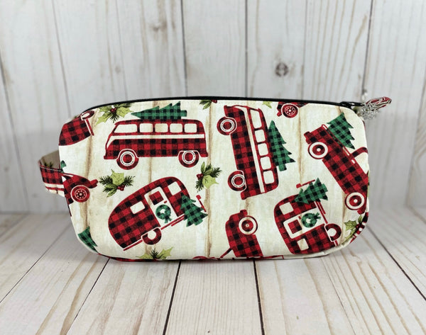 Vintage Plaid Small Project Bag | Cookie and Bees