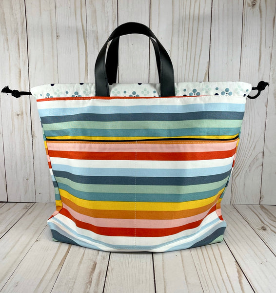 Pride Large Handled Drawstring Bag | Cookie and Bees