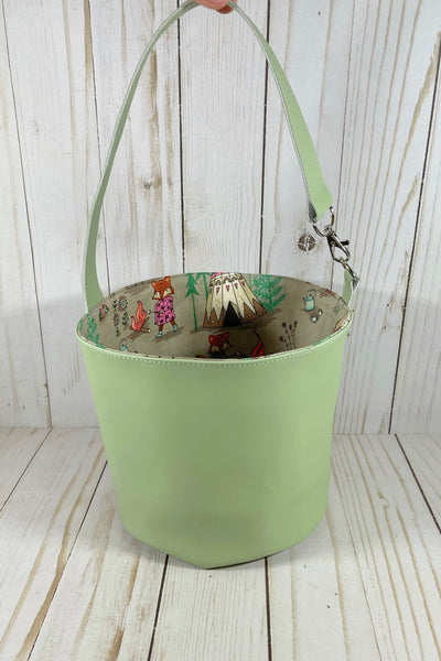 Fire Fox Small Bucket | Cookie and Bees