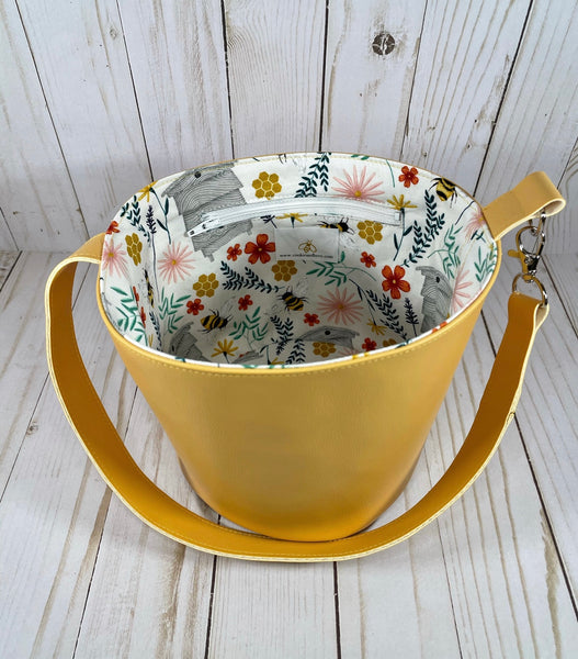 Save the Bees Small Bucket  | Cookie and Bees
