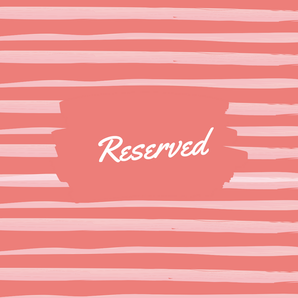 Reserved for Sam  | Cookie and Bees