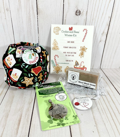 Winter Cake Coozie Kit | Cookie and Bees