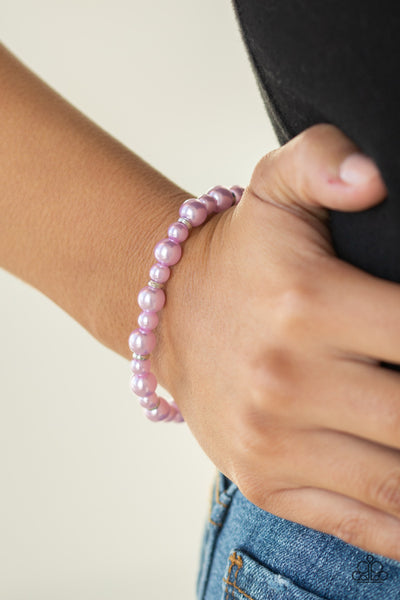 Powder and Pearls-Womens bracelets-Paparazzi-Mel's Bling Galore