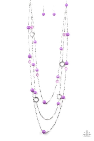 Brilliant Bliss-Women's Necklaces-Paparazzi-Mel's Bling Galore