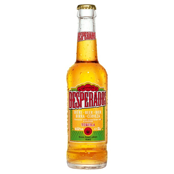 Desperados Tequila Lager Beer - 330ml