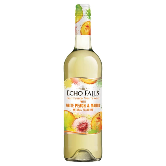 Echo Falls Fruit Fusion Peach & Mango - 75cl