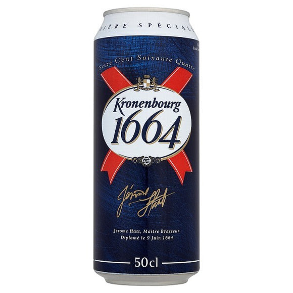 Kronenbourg 1664 Premium Beer - 440ml
