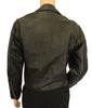 "1970s Unisex ""Excelled"" Brando Style Leather Motorcycle Jacket"