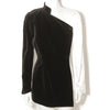 Thierry Mugler Stunning White Satin / Black Velvet Evening Jacket