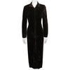 Betsey Johnson 1980s Punk Label Long Velvet Dress