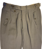 1940s Men's Grey Ski Pants