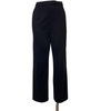 Leonard Paris High Waist Silk Jersey Navy Pant