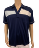 Early 1980s Navy Blue & White Polo Shirt