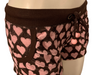 2000s Juicy Couture Deadstock  Terry Heart Print Shorts