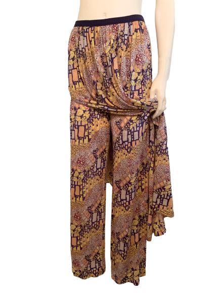 Missoni 1970s Skirted Pants