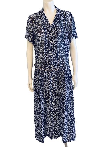 Comme des Garcons 1990s Floral Day Dress