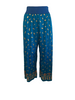 Jean Paul Gaultier 1980s Blue and Gold  Palazzo Pant
