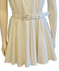 Norma Kamali 1980s White Cotton Sundress