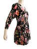 1990s Floral Drop Waist Fit & Flare Mini Dress