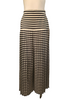 Gianfranco Ferre 1980s Striped Pleated Palazzo Pants
