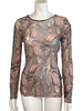 Jean Paul Gaultier Maille Sheer Top