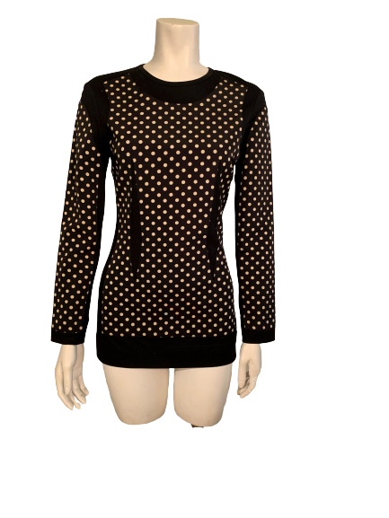 Moschino Couture 1980s Polka Dot Tunic/Dress