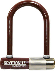 Kryptonite Evolution Mini-5 U-lock: Dark Chocolate; 3.25 x 5""