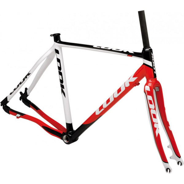 Look /// X85 Disc Frameset ///  White - Red