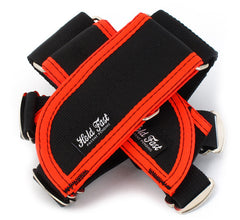 Hold Fast /// Straps /// Black/ FL Orange