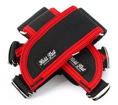 Hold Fast /// Straps /// Black/Red Binding
