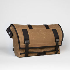 Mission Workshop- VX Rummy Messenger Bag- Waxed Brown